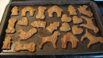 peanut butter dog biscuit recipe