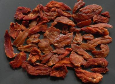 Olivia's homemade chicken jerky