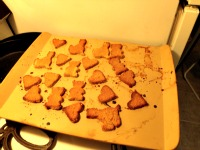 The cookies done
