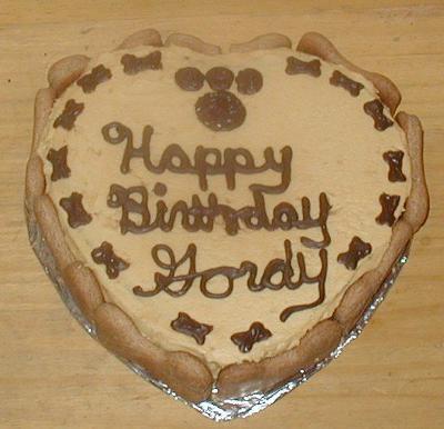 Woofday Cake