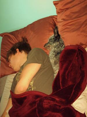 Sleepin' in