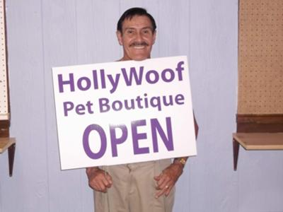 HollyWoof is open for business.