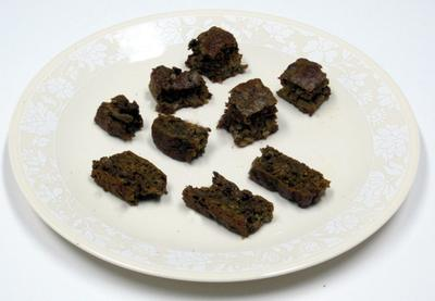 Moist Brownies and dry Biscotti