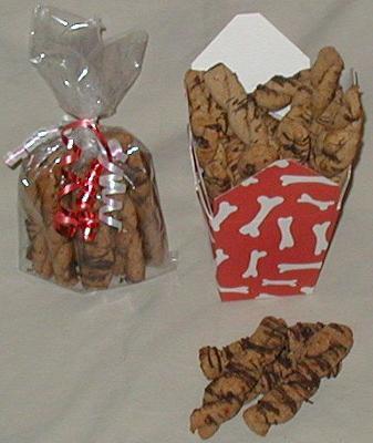 Carob Glazed Peanut Ruffer Twists